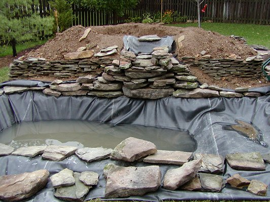 Fish Ponds Pond Hardscape Ray 39 S Construction Milford