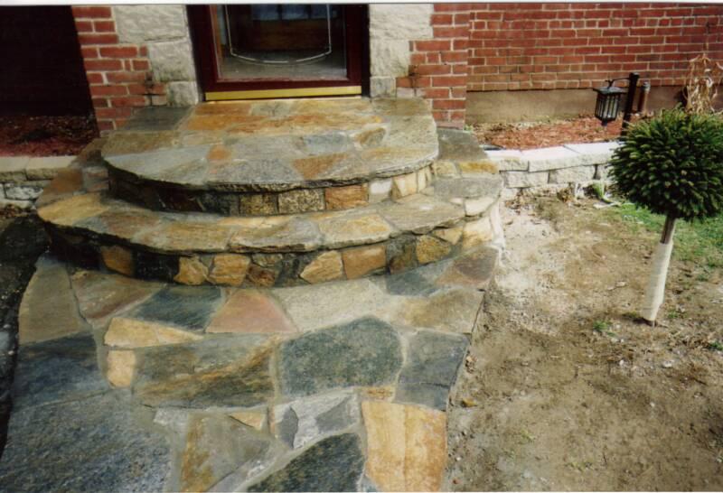 Stone Steps Stone Wall Construction Masonry Ray S